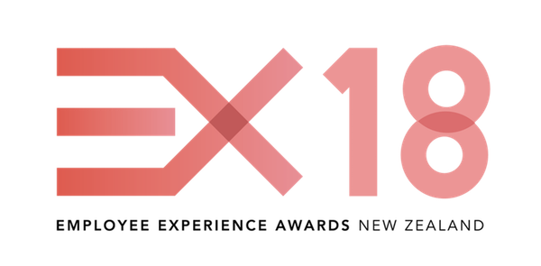 Click the EX18 Employee Experience Awards logo to learn more about the awards.