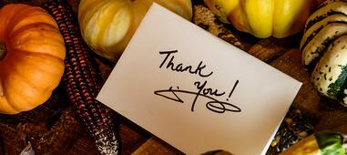 Sincere Value of a Thank-You