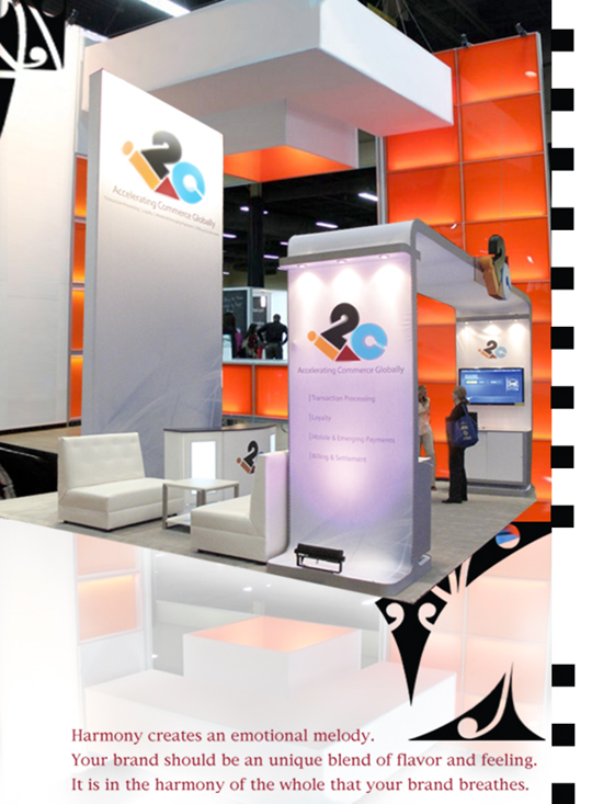 Modish Minimalism Harmony In Booth Design