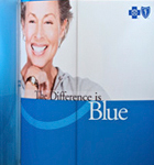 Blue Shield portable displays
