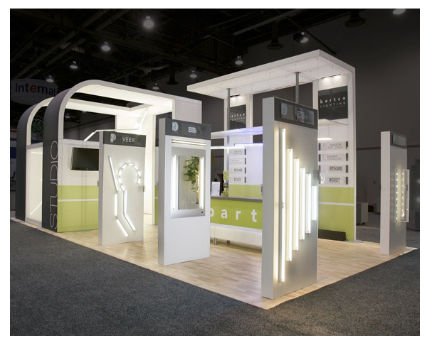 Trade Show Booth Objectives : Contemporary trade show booth bartco