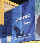 trade display: Ortronics