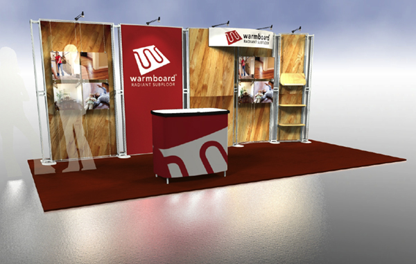 booth design ideas warmboard