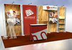 booth design linear