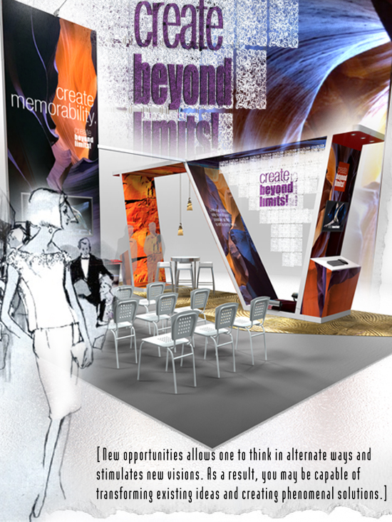 Compelling Booth Design: Create Beyond Limits!
