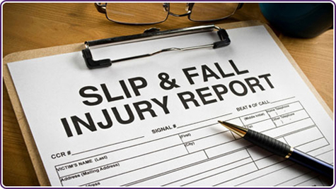 slip trip fall injury