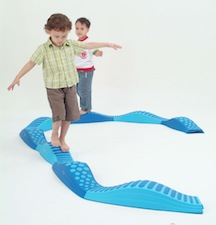 The wavy tactile path can be arranged into curvy or linear patterns. Get ready to practice balance control for the left and right as well as front to back. The tactile path offers a superb tactile sensory experience for children. Includes 8 pcs.