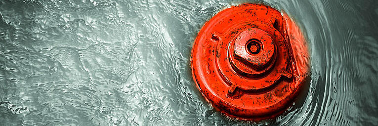 red-hydrant-in-water