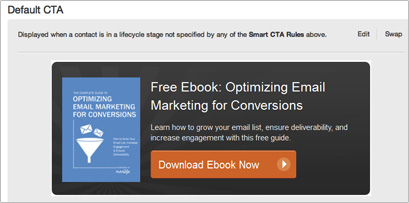 Smart CTA with HubSpot 3