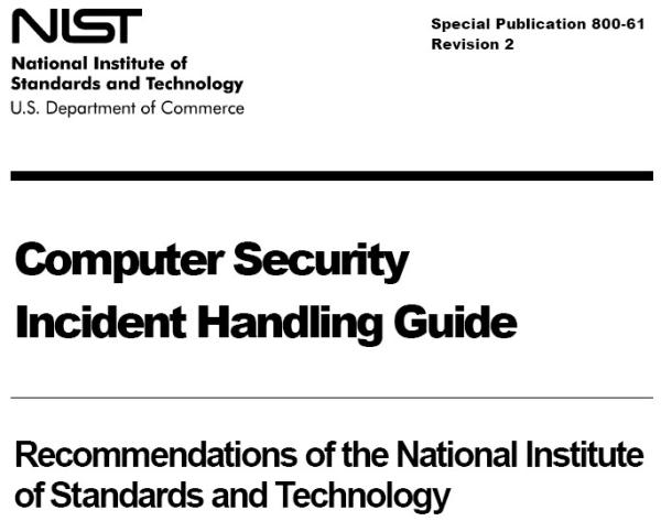 NIST 800-61 - Incident Response Detective