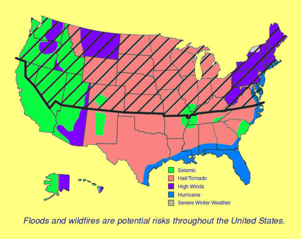 Potential risks throughout US resized 600