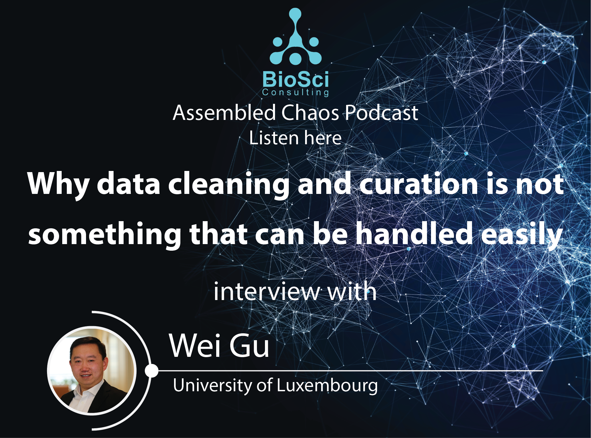 Why data cleaning and curation is not something that can be handled easily