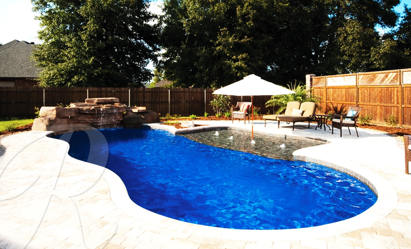 Fiberglass pools models catalog shapes designs for Pool design orange county