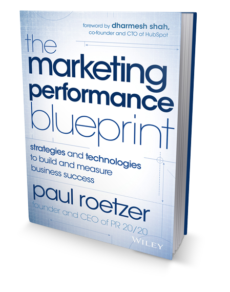Marketing Performance Blueprint Book