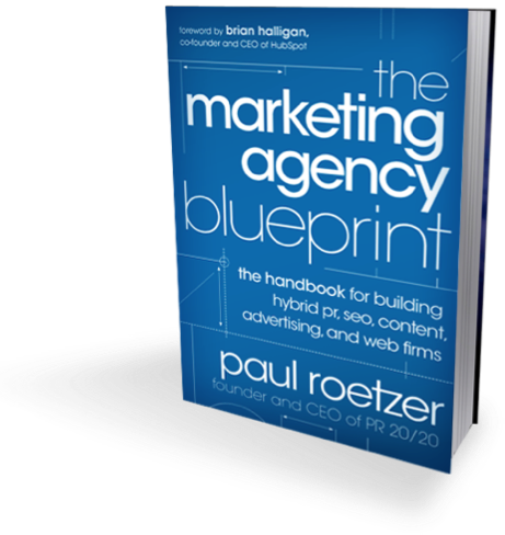 Marketing Agency Blueprint cover