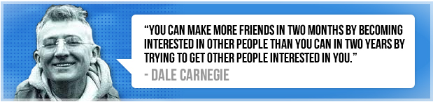 Dale Carnegie PR Relationship Quote