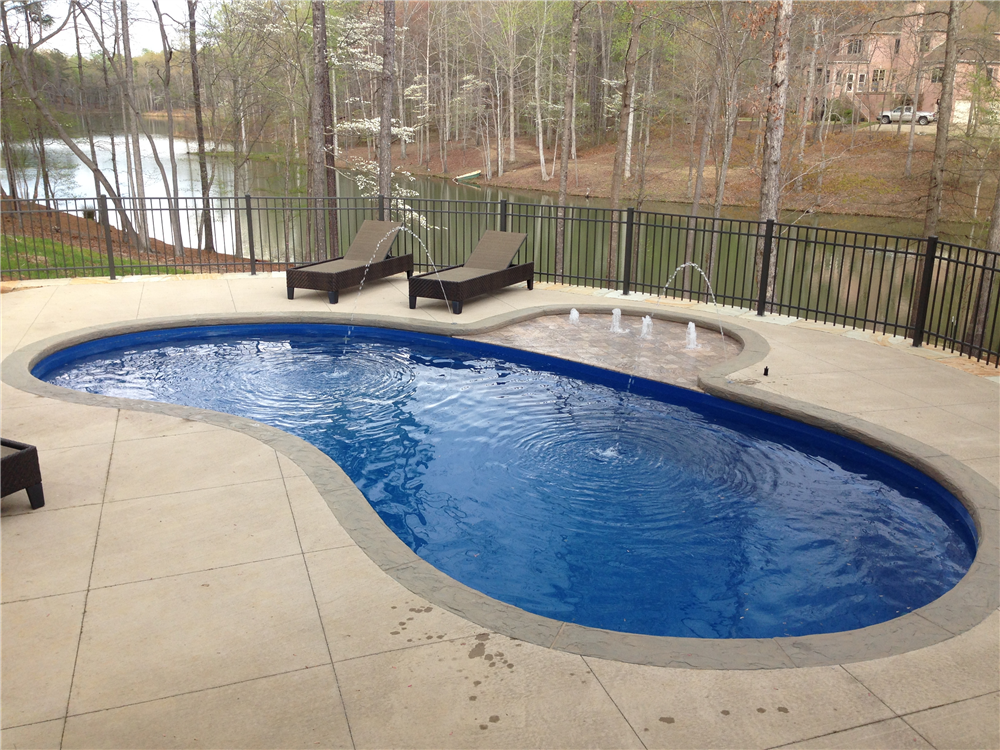 Earl 39 s pools al fiberglass pool sales service - Riviera fiberglass pools ...