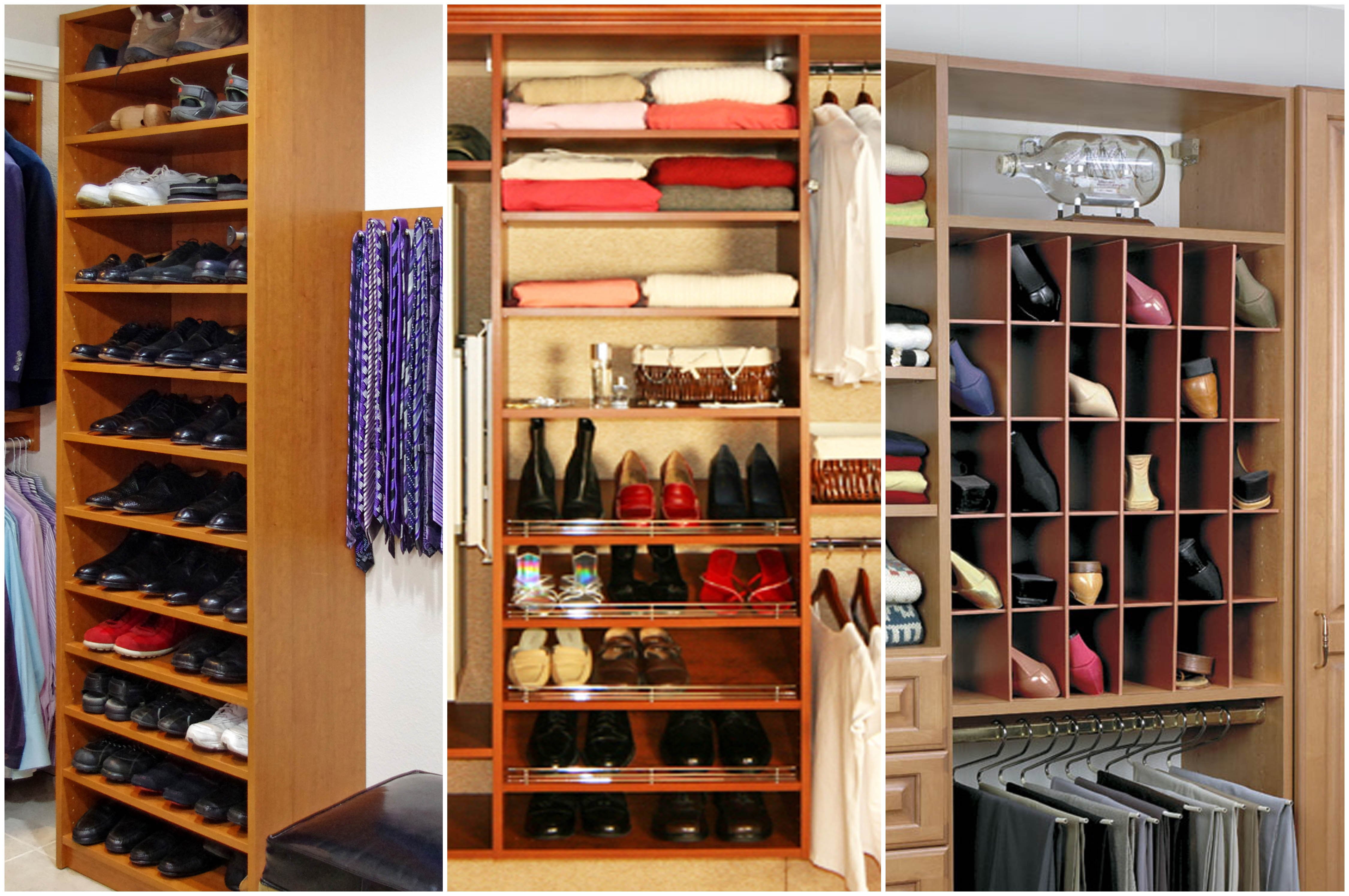 The Closet Doctoru0027s Solution For Shoe Storage