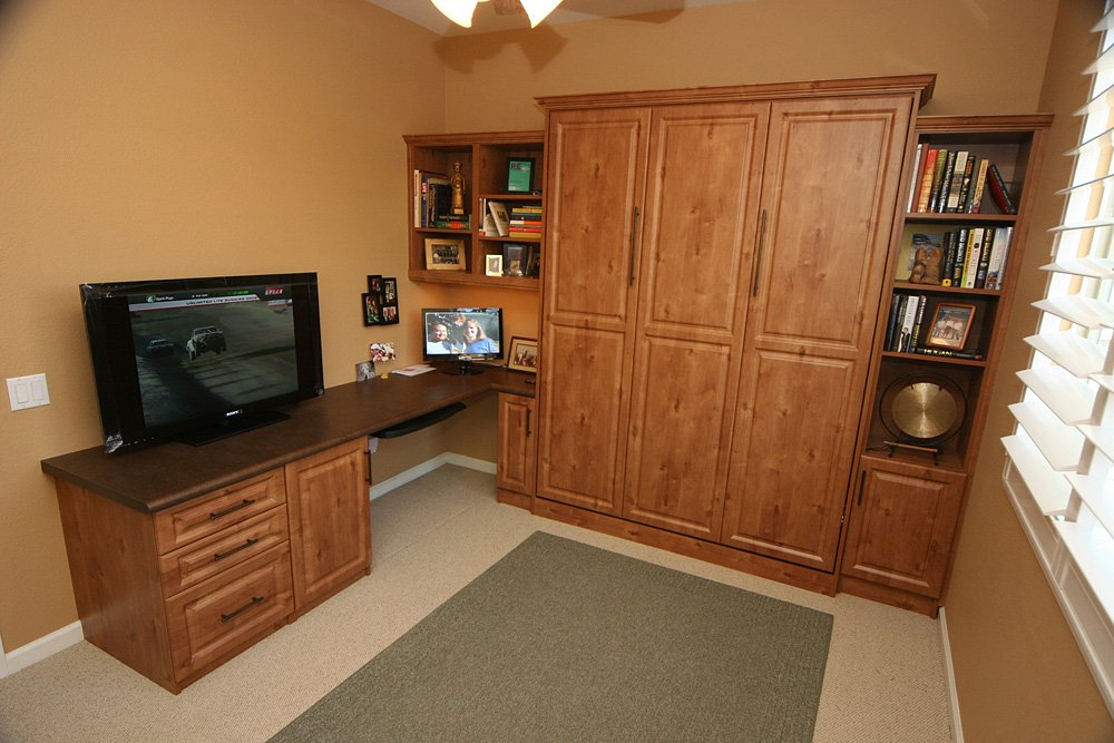 murphy bed photo gallery design ideas the closet doctor. Black Bedroom Furniture Sets. Home Design Ideas