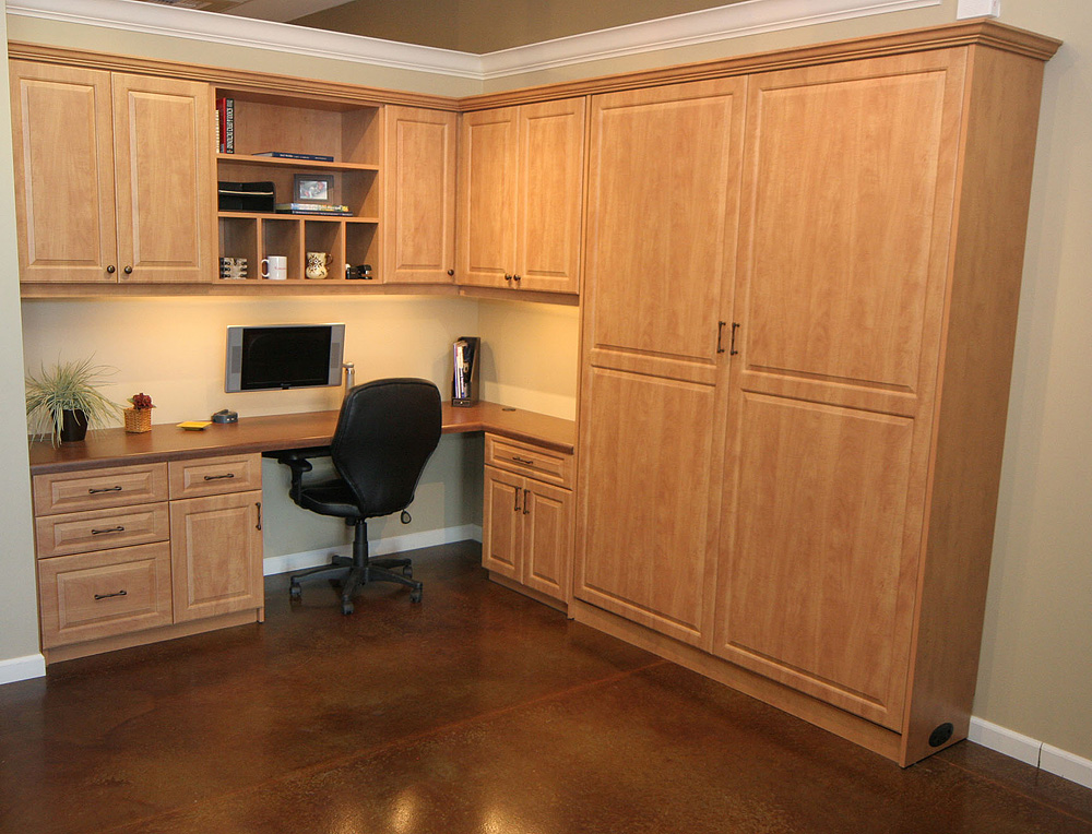 Murphy Bed With Home Office : Sacramento murphy wall beds home office the closet doctor