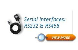 Serial Interfaces: RS232 & RS458