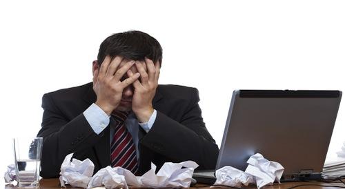 Content Marketing Stress