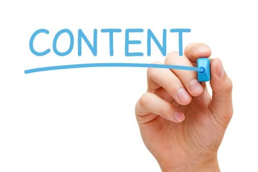 Как начать блог - контент