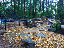 Pond less cascading falls photo gallery for Pond supplies near me