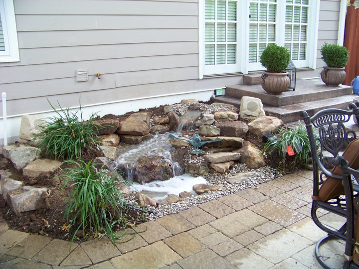 Pond Less Cascading Falls Photo Gallery