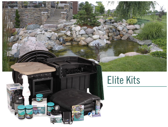 Large Water Garden Kits Elite