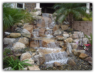 Waterfall kits water gardens garden ponds for Build your own waterfall pond
