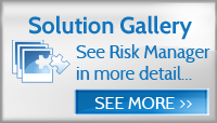 Risk Manager solution gallery