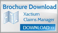 Download Xactium Claims Manager solution brochure