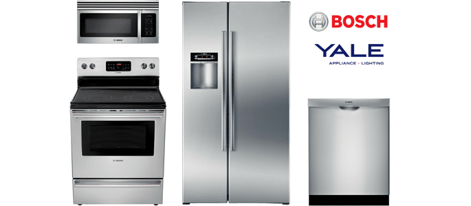 best bosch stainless kitchen appliance packages: reviews/ratings ...