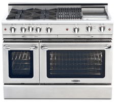 Capital Culinarian Vs Jenn Air 48 Inch Professional Ranges