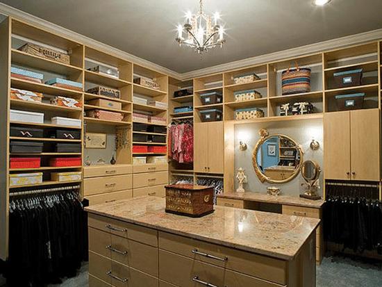 How to light a closet reviews for Dressing room lighting ideas