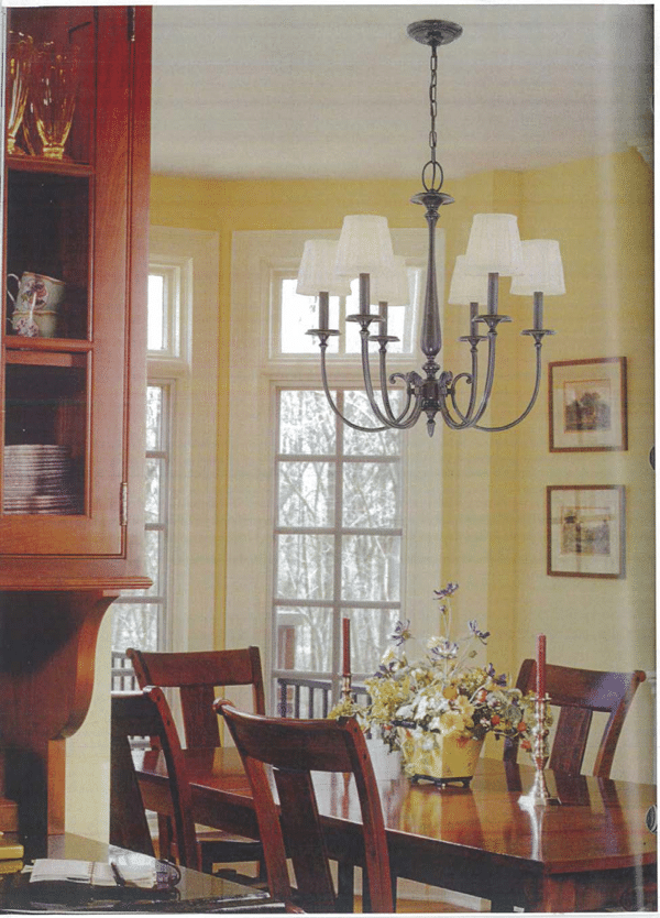 How do i size my dining room or dinette chandelier - Chandelier size for dining room ...