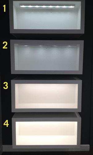 Led Vs Xenon Lighting Under Cabinets Photos
