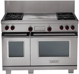 the best professional gas 48 inch ranges reviews ratings