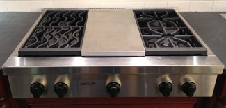 Bosch Range Top >> Bosch Ngm8054uc Vs Ge Profile Pgp959setss 5 Burner 30 Inch Gas Cooktops