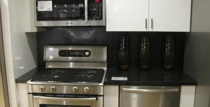 led tape under cabinet lighting display off. Black Bedroom Furniture Sets. Home Design Ideas