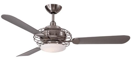 minka aire acero ceiling fan F601BSBN