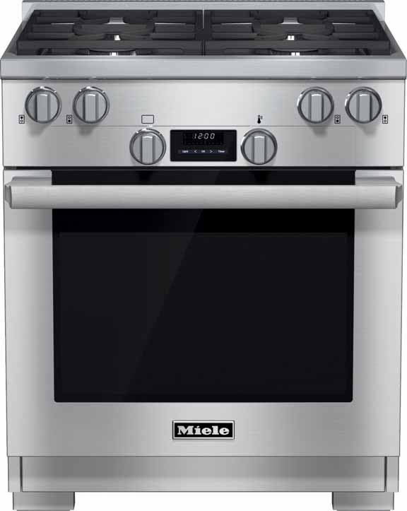 New Miele Hr1124 30 Inch Professional Gas Range Reviews