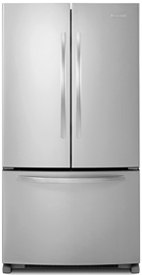 Charming Kitchenaid French Door Refrigerator 2013 KBFS25EWMS
