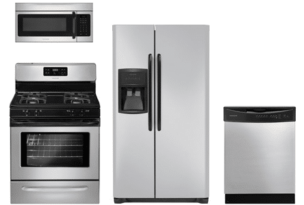 frigidaire silver mist appliances