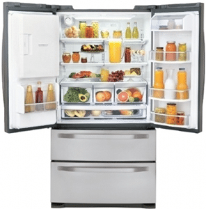 Best Counter Depth French Door Double Drawer Refrigerators Reviews