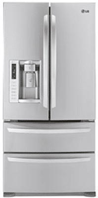 Refrigerators freezer on the bottom fridge on top with double doors - Lg Vs Jennair French Door Double Drawer Refrigerators