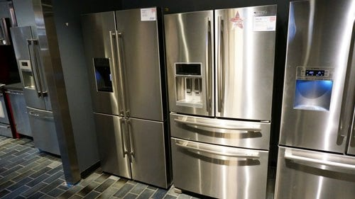 samsung vs blomberg four door refrigerators. Black Bedroom Furniture Sets. Home Design Ideas