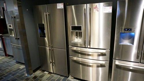 Samsung Vs Blomberg Four Door Refrigerators