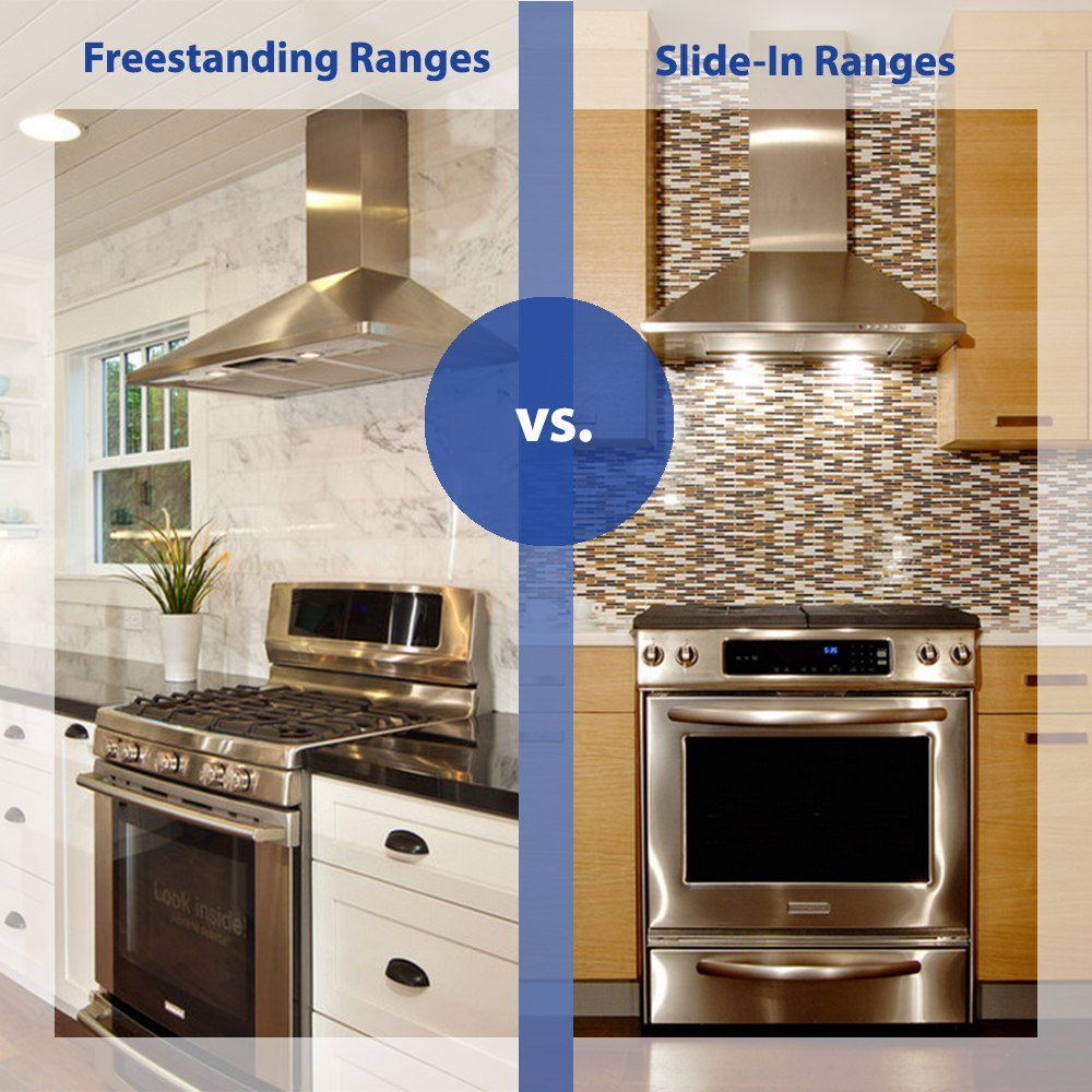 Bosch Benchmark vs. GE Profile Slide-In Gas Ranges (Reviews/Ratings/Prices)